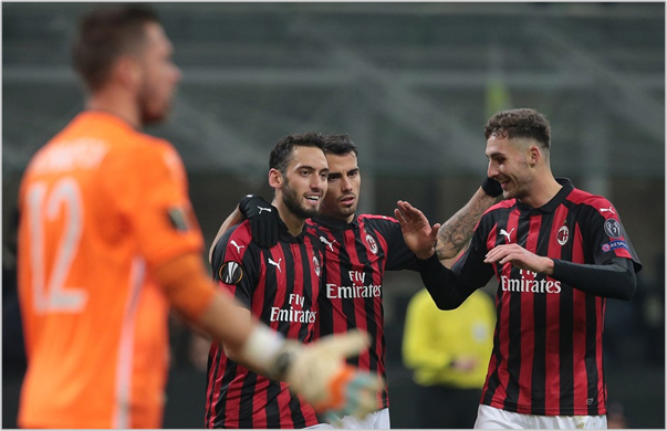 milan dudelange 2018 europa league