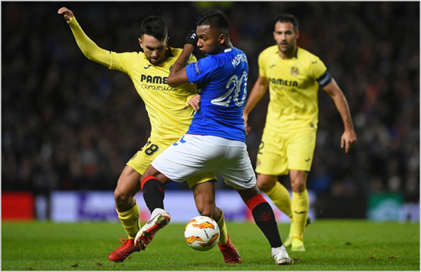 rangers villarreal 2018 europa league
