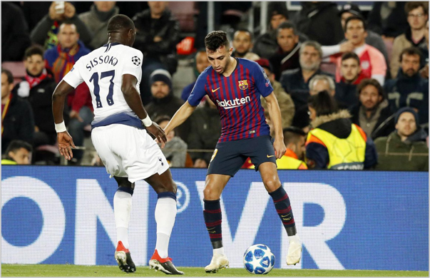 barcelona tottenham 2018 champions league