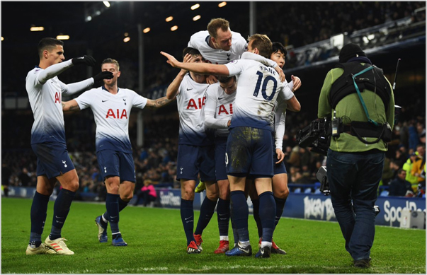 everton tottenham 2018 premier league
