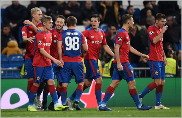 real madrid cska moscu 2018 champions league
