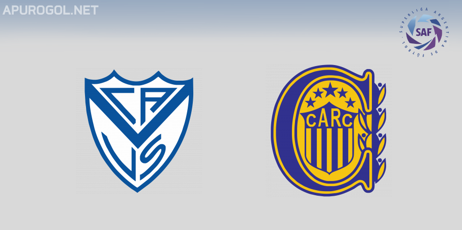 Vélez vs Rosario Central en VIVO ONLINE - Superliga 2018-2019 en DIRECTO Fecha 14