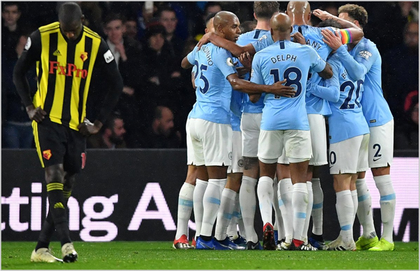 watford manchester city 2018 premier league