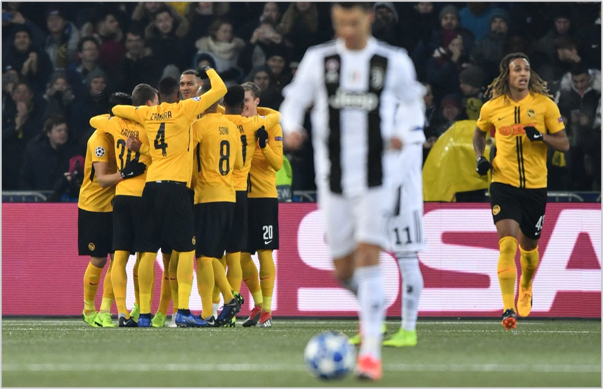 young boys juventus 2018 champions league