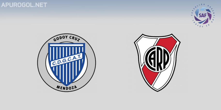Godoy Cruz vs River en VIVO ONLINE - Superliga 2018-2019 en DIRECTO Fecha 13