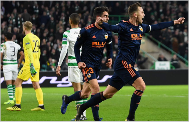 celtic valencia 2019 europa league