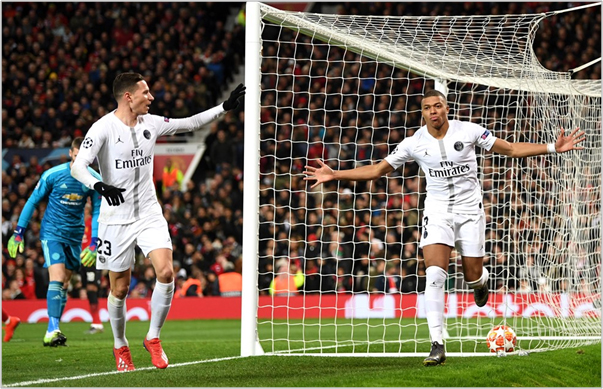 manchester united psg 2019 champions league