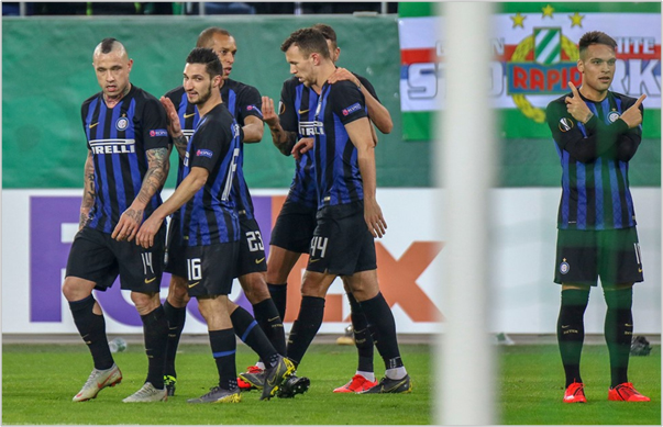 rapid viena inter 2019 europa league