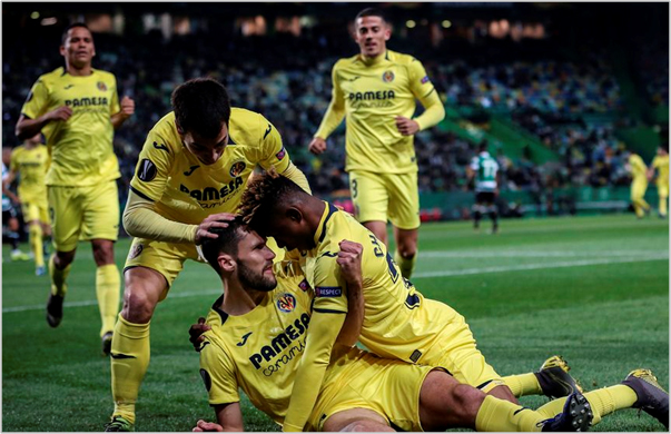sporting de lisboa villarreal 2019 europa league