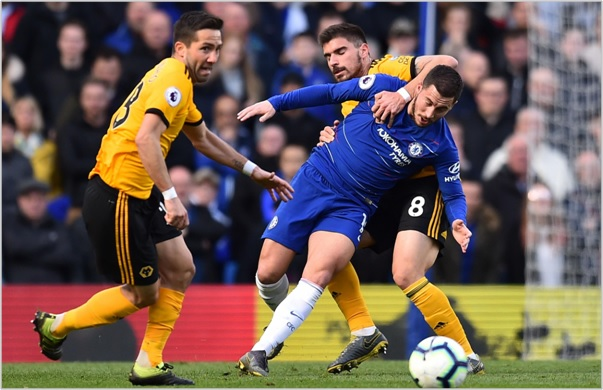 chelsea wolves 2019 premier league