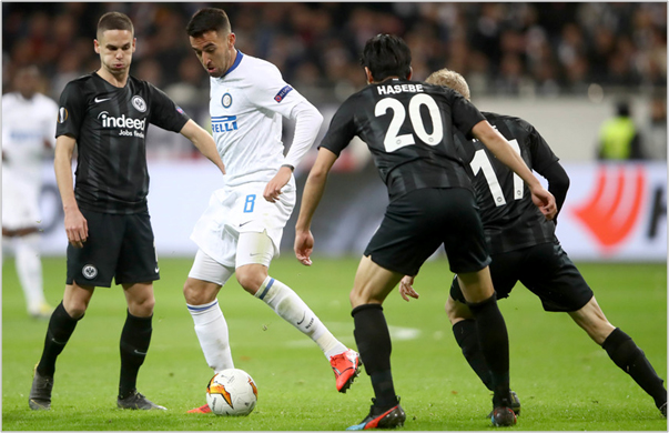 eintracht frankfurt inter 2019 europa league