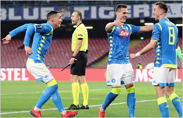 napoli salzburgo 2019 europa league