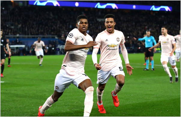 psg manchester united 2019 champions league