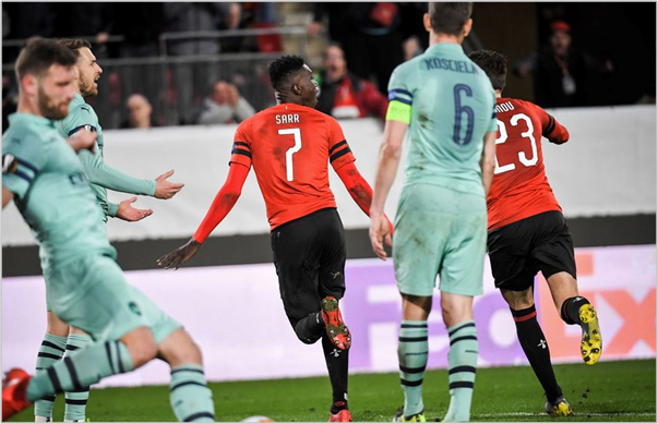 stade rennais arsenal 2019 europa league