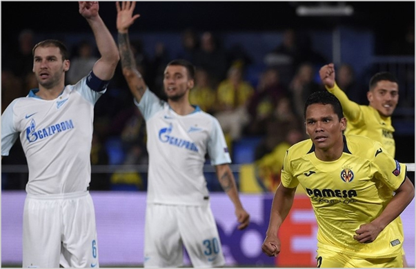 villarreal zenit 2019 europa league