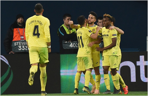 zenit villarreal 2019 europa league
