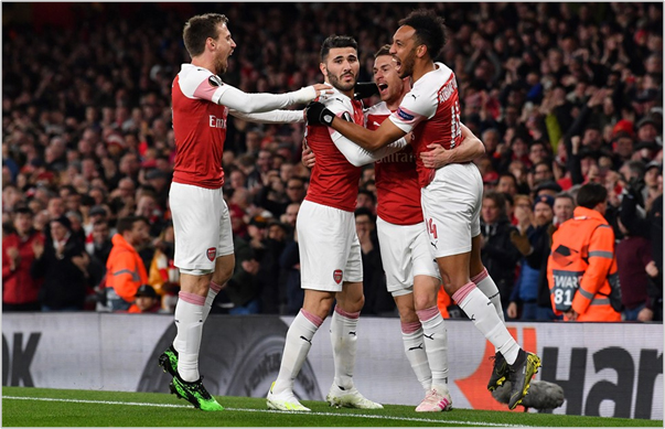 arsenal napoli 2019 europa league