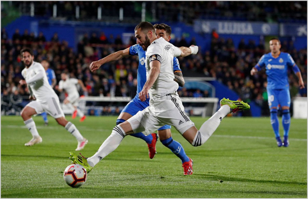 Como Ver El Partido Getafe Vs Real Madrid: Getafe 0 Real Madrid 0