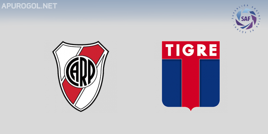 River vs Tigre en VIVO ONLINE - Superliga 2018-2019 en DIRECTO Fecha 25