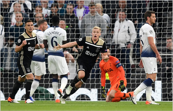 tottenham ajax 2019 champions league