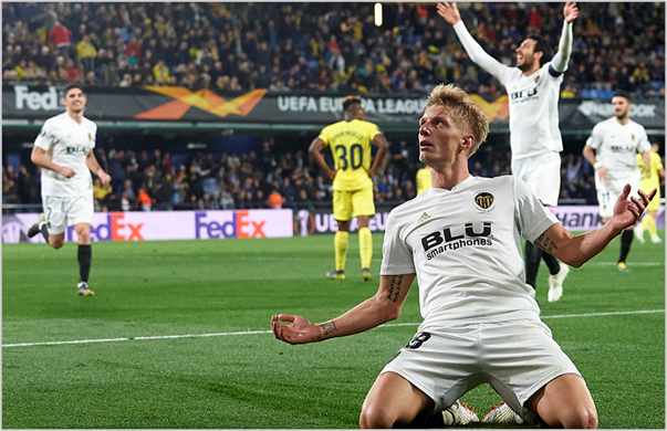 villarreal valencia 2019 europa league