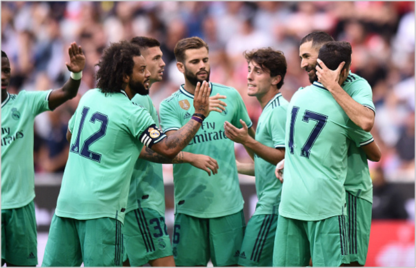 real madrid fenerbahce 2019 audi cup