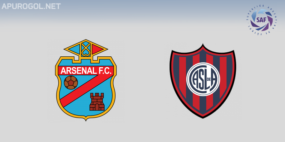 Arsenal vs San Lorenzo en VIVO ONLINE - Superliga 2019-2020 en DIRECTO Fecha 4