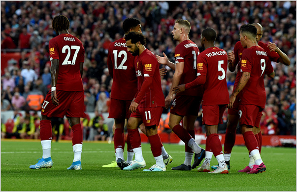 liverpool norwich 2019 premier league