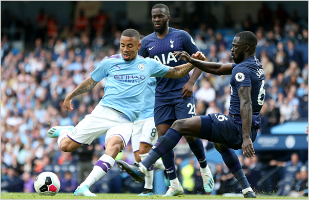 manchester city tottenham 2019 premier league