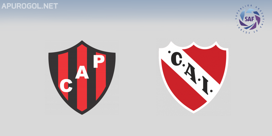 Patronato vs Independiente en VIVO ONLINE - Superliga 2019-2020 en DIRECTO Fecha 5