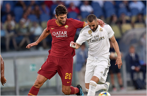 roma real madrid 2019 amistoso
