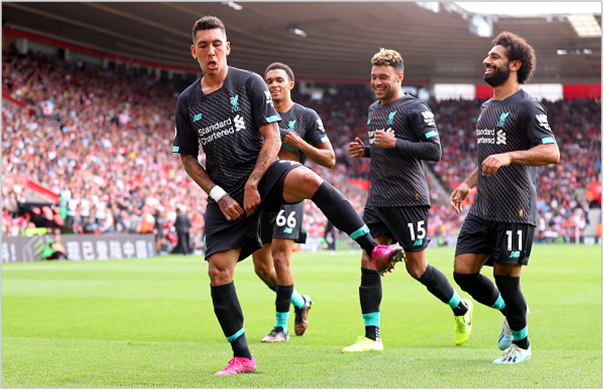 southampton liverpool 2019 premier league