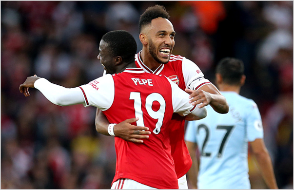 arsenal aston villa 2019 premier league