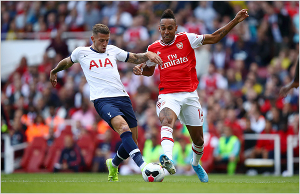 arsenal tottenham 2019 premier league