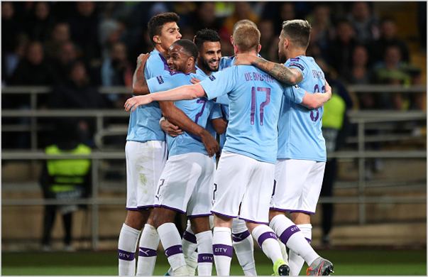 shakhtar manchester city 2019 champions league