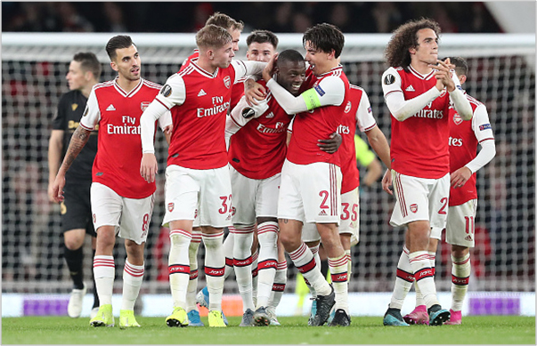 arsenal vitoria de guimaraes 2019 europa league