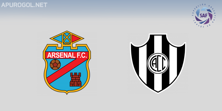 Arsenal vs Central Córdoba en VIVO ONLINE - Superliga 2019-2020 en DIRECTO Fecha 11