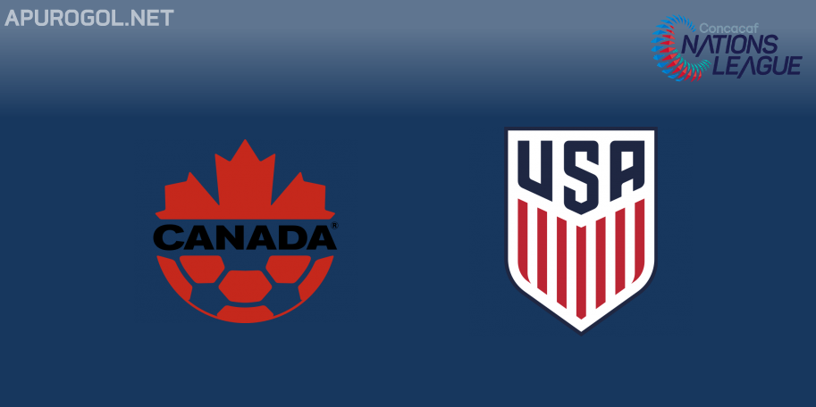 Canadá vs Estados Unidos en VIVO ONLINE - CONCACAF Nations League 2019-2020 en DIRECTO Liga A Grupo A