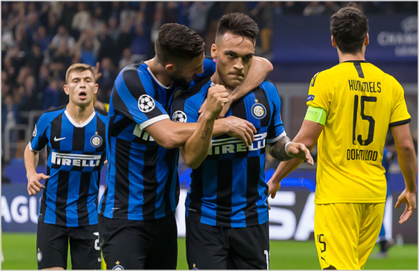 inter borussia dortmund 2019 champions league