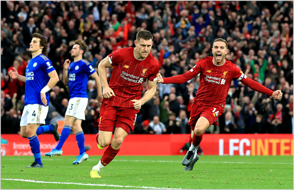 liverpool leicester 2019 premier league