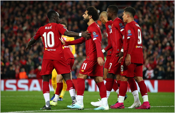 liverpool salzburgo 2019 champions league