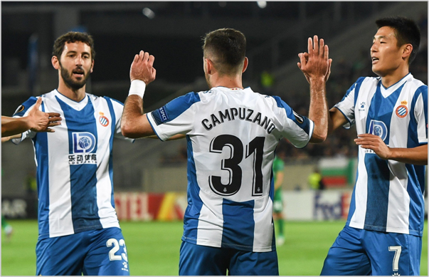 ludogorets espanyol 2019 europa league