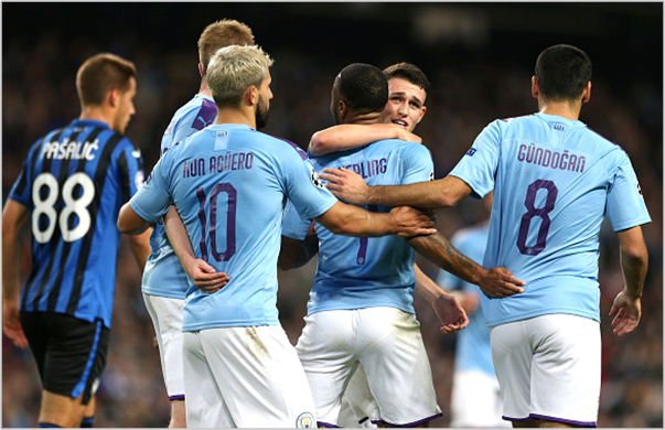 manchester city atalanta 2019 champions league