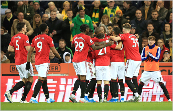 norwich manchester united 2019 premier league