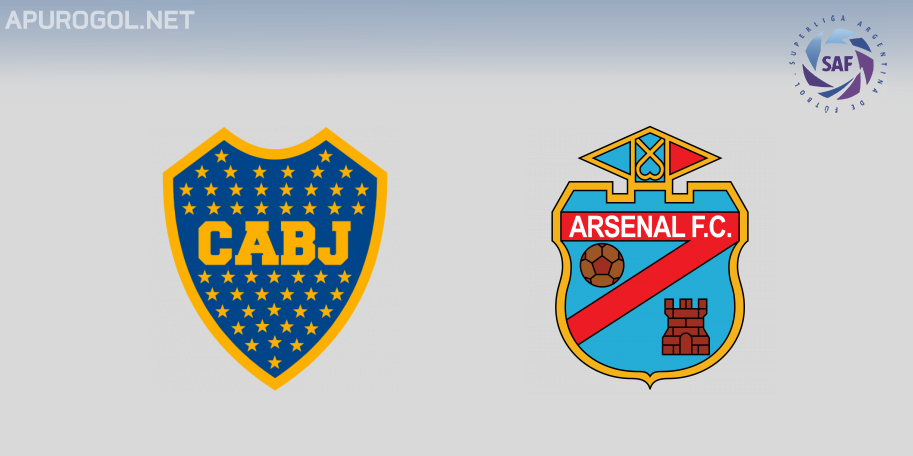 Boca vs Arsenal en VIVO ONLINE - Superliga 2019-2020 en DIRECTO Fecha 12