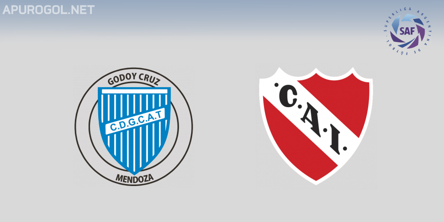 Godoy Cruz vs Independiente en VIVO ONLINE - Superliga 2019-2020 en DIRECTO Fecha 13