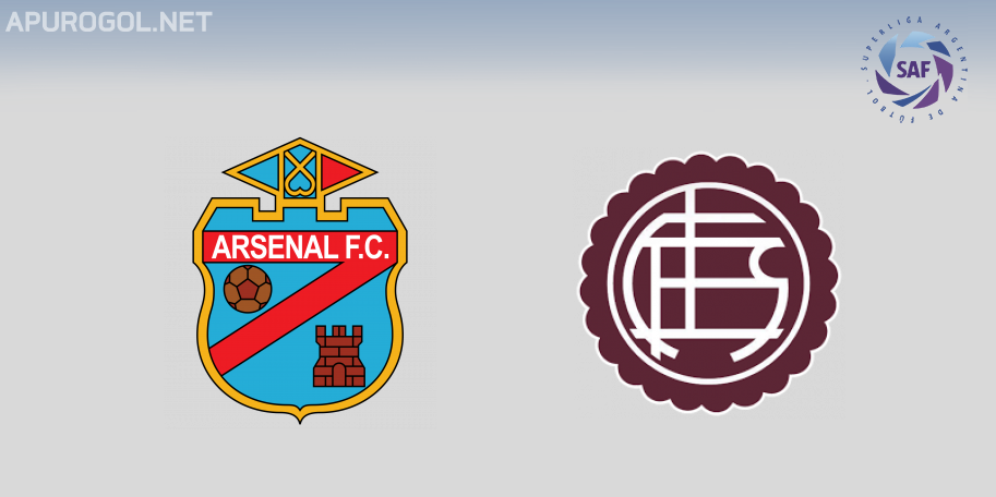 Arsenal vs Lanús en VIVO ONLINE - Superliga 2019-2020 en DIRECTO Fecha 15