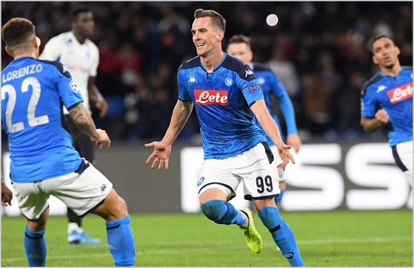 napoli genk 2019 champions league