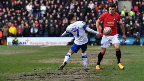 Tranmere vs Manchester United