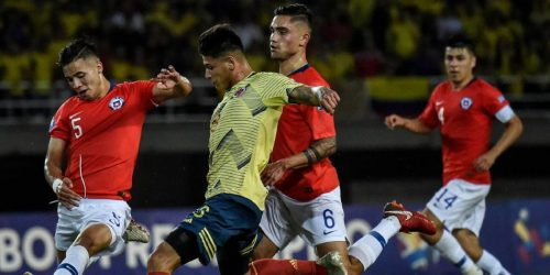 Colombia 0 Chile 0